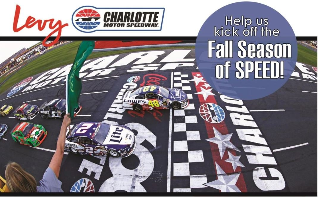 Charlotte Motor Speedway's event team, Levy, is hosting Job Fairs at the NC Works Career Center in Concord on Aug 28 (10am-12pm) & Aug 29 (2pm-4pm). Part-time event staff. For more information and to apply online, visit: https://t.co/zXpwwXPVPQ https://t.co/ujWPKTLukC