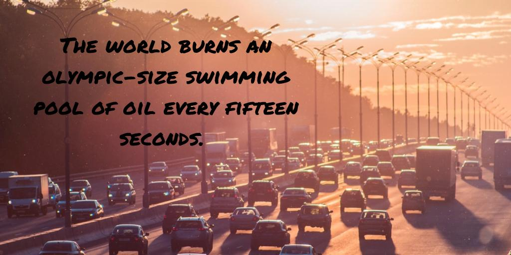 test Twitter Media - The world burns an olympic-size swimming pool of oil every fifteen seconds. #conservation #finiteresource #peakoil https://t.co/nojsgQpSvK