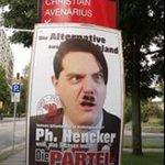 Image for the Tweet beginning: Lustige (unscharfe) Facebook-Erinnerung...  #Sachsenwahl