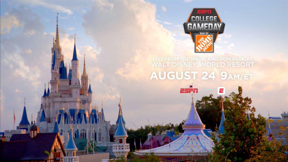 ESPN's College GameDay Announces Updates For Saturday's Show