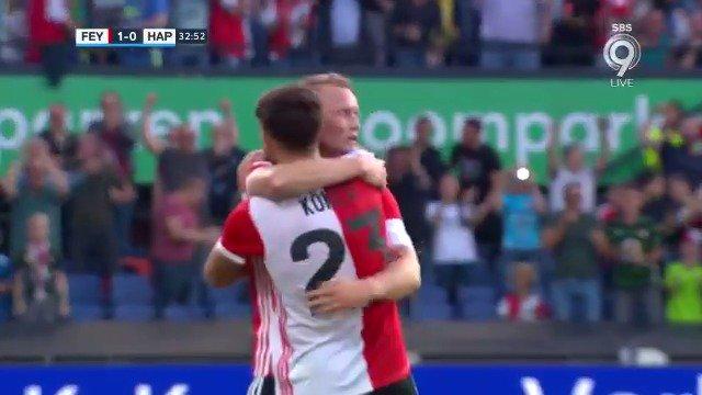 Feyenoord - Hapoel Beer Sheva 1-0 door Sam Larsson