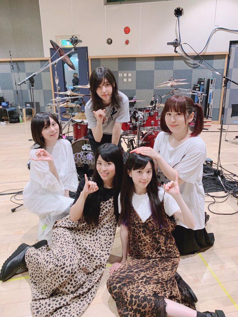 先日「Animelo Summer Live 2019 -STORY-」のリハーサルがありました!!2年ぶりのアニサマ!最高に楽しみ!#anisama #Roselia #豹柄コンビ