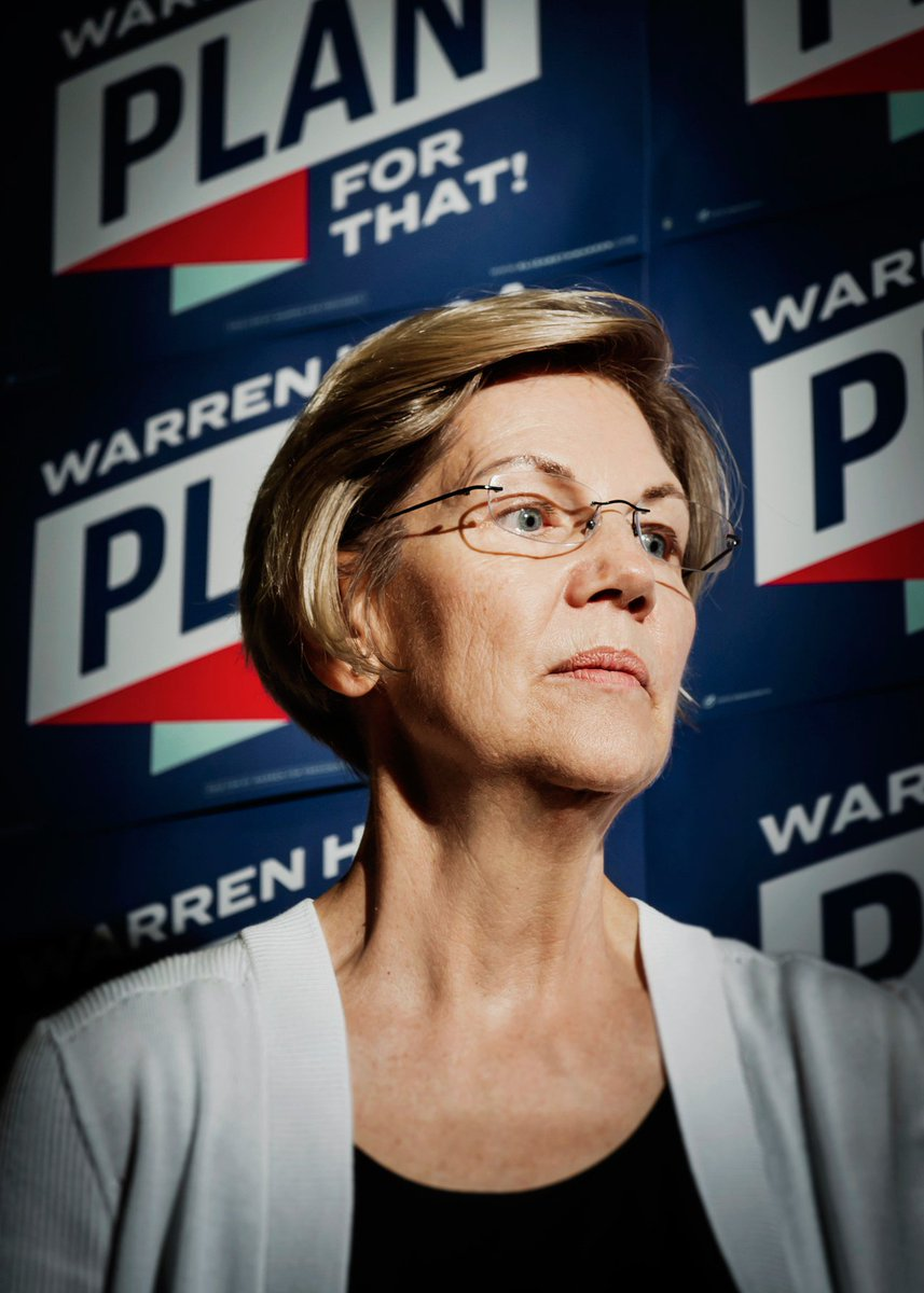 This summer, @ewarren has been trouncing debate foes, climbing in the polls, and making the grandest ideas sound perfectly sensible, including her biggest pitch of all: That she's the one to beat Trump http://gq.mn/L1ZWzBI