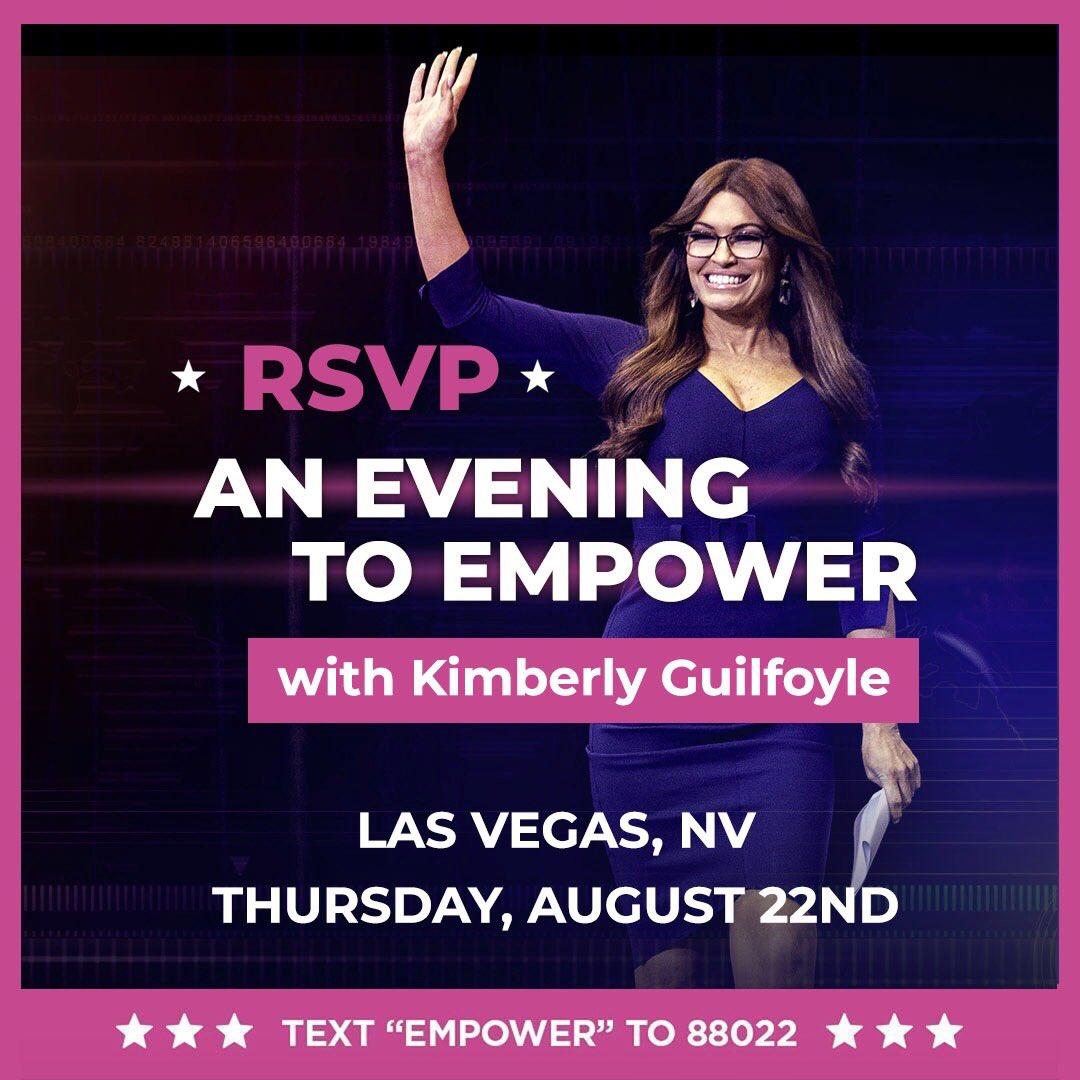 RT @kimguilfoyle: Can't wait to see you all tonight! #WomenForTrump #KAG2020  https://t.co/Osb0b5fp5M https://t.co/ojgaGKQbze