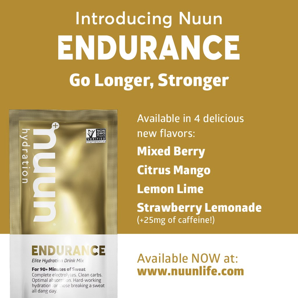 #ThirstyThursday    With only 4 weeks until race day! Make sure that you're training with what will be served on course! Visit  http:// nuunlife.com     to redeem 30% off your next @nuunhydration purchase using promo code: TRAINWITHNUUN   #nuunlife #stayhydrated #nuunlove <br>http://pic.twitter.com/pV6DOxRwxm