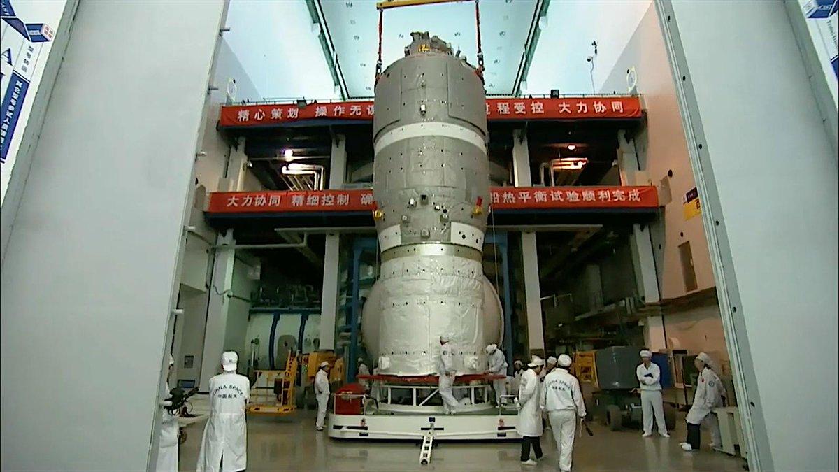 [Chine] Tiangong 3 / Tianzhou 2  EClEEMDVUAAkF7M