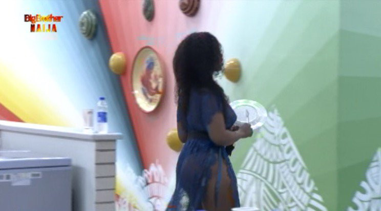 Now that Tasha is dressing like this nobody is complaining oo if na Mercy now those idiots will be talking trash #BBNaija this shows Mercy is smarter and hot not showing your boobs for who??? <br>http://pic.twitter.com/a8dwJ2ipVV