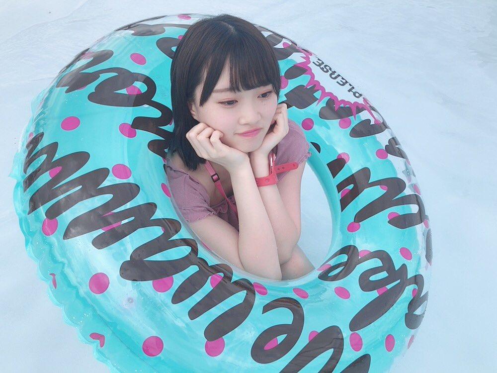 AKB48に入ってプール初めてでした😳🍉