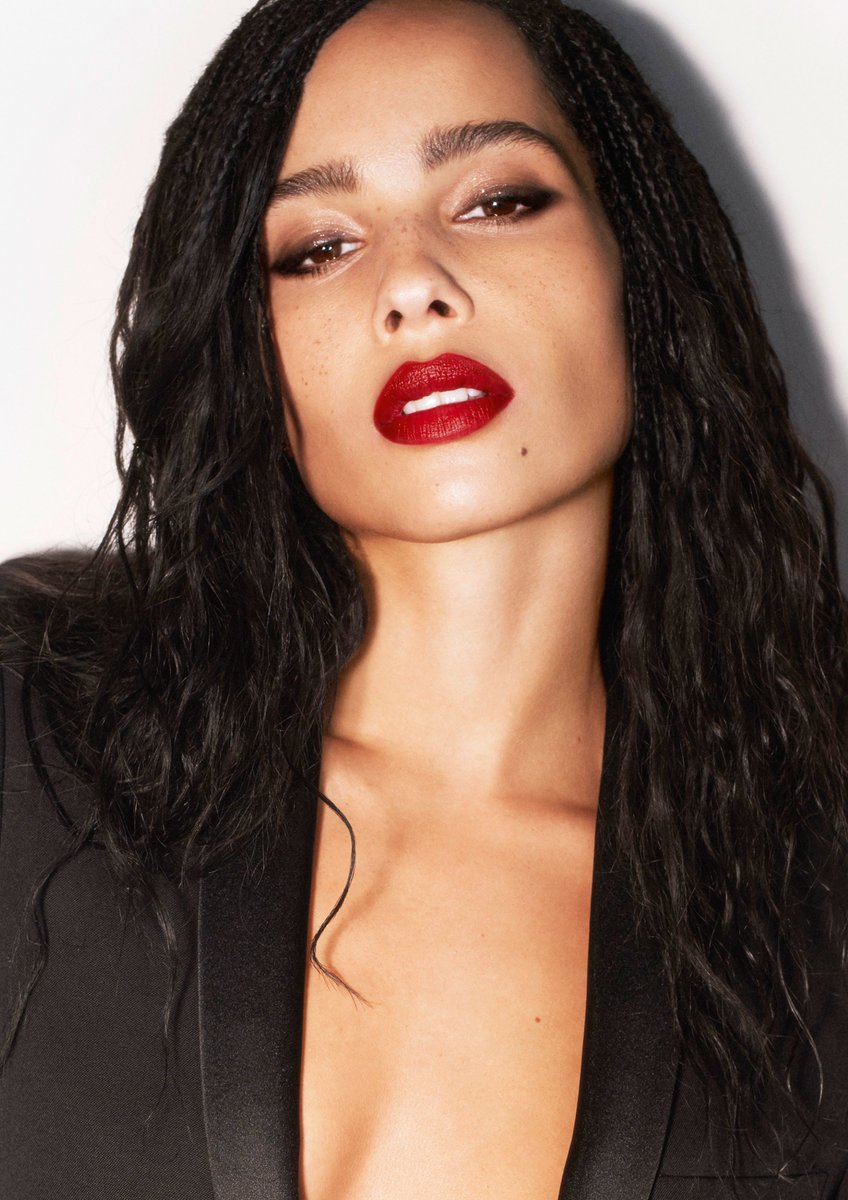 ~ @ZoeKravitz has launched a lipstick line with @YSL Beauty, who she first collaborated with in 2017. The lipsticks are reportedly named after the most important people in Zoe's life  More details here: https://t.co/45Fywzsiib https://t.co/do6zFaKyDT