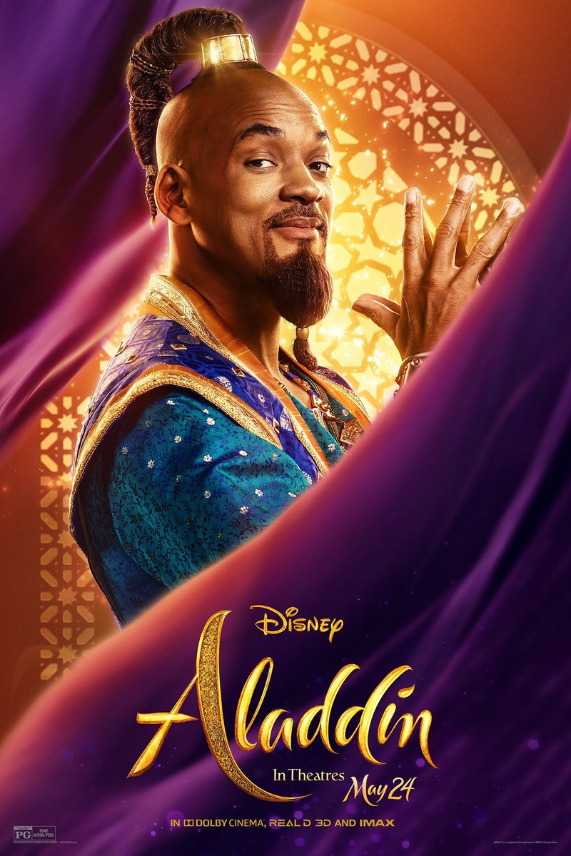 #FunFact #6: Aladdin is Will Smith's highest grossing film in his entire film career. #aladdin #aladdin2019 #movie #willsmith #disney #disneytrivia #trivia #genie #musical #music<br>http://pic.twitter.com/yUE4w0VjLY
