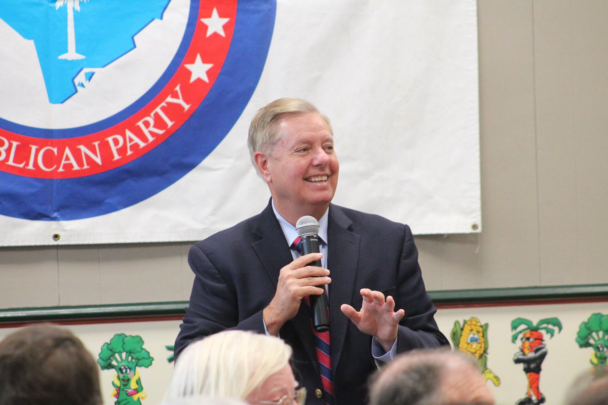 This week, I've made stops in Spartanburg, Indian Land, Rock Hill, & Gaffney. I've enjoyed the conversations & have been blown away by the enthusiasm – thank you all! The people of SC are fired up to keep our state ruby red in 2020. Join Team Graham at LindseyGraham.com.