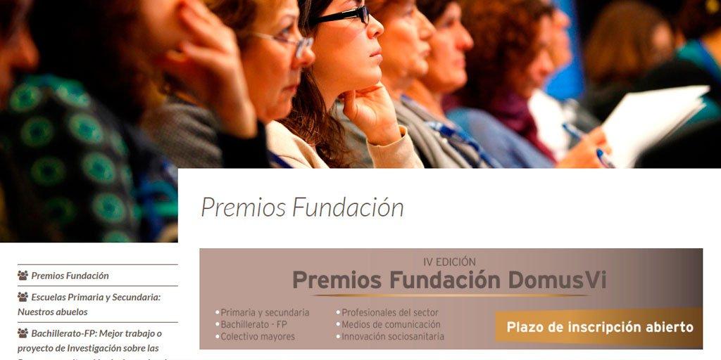 test Twitter Media - 📣Se amplía el plazo de inscripción de los Premios Fundación @DomusVi_Es hasta el 22 de septiembre. El objetivo es reconocer el compromiso social de personas e instituciones que contribuyen a mejorar la calidad de vida de las #PersonasMayores.  ➡https://t.co/KEGIMBlh15 https://t.co/DeDcdw8yio
