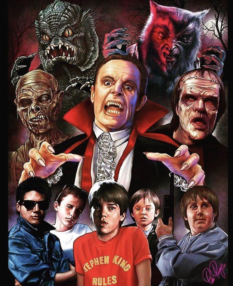 The Monster Squad  #StephenKingRules   (Evil Eye Art)<br>http://pic.twitter.com/kO8sdukHeu