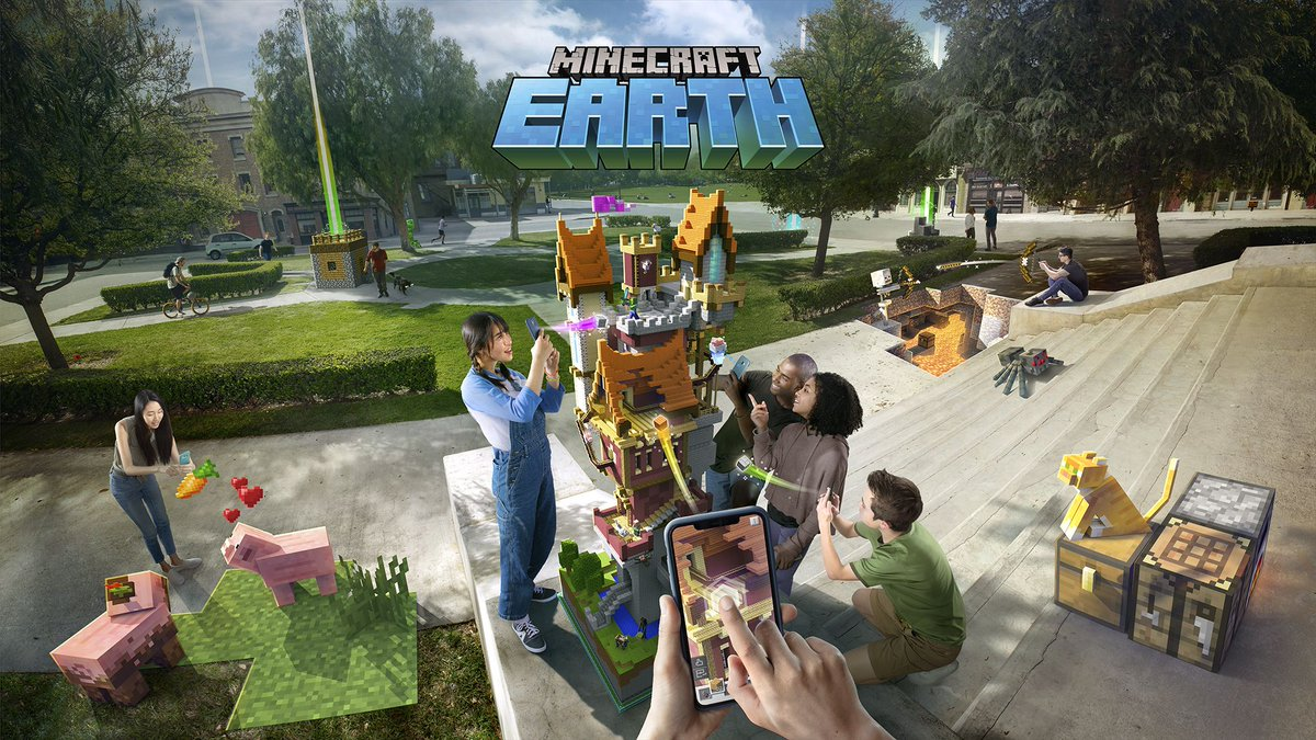 You can now sign up for the Minecraft Earth beta on Android. Microsoft is expanding the beta beyond iOS devices. Details here: theverge.com/2019/8/22/2082…