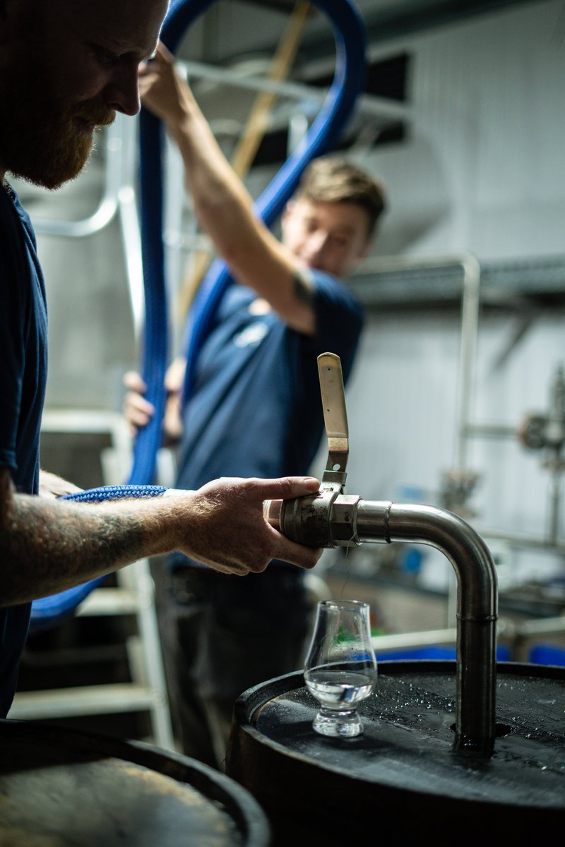 We've been busy filling casks with Raasay malt spirit made with Raasay #barley from last year's harvest - building flavour from the fields of Raasay!  This will mature into some of the very first Isle of Raasay #SingleMalt. Now for the hard part - the waiting!<br>http://pic.twitter.com/dqewkTM0fo