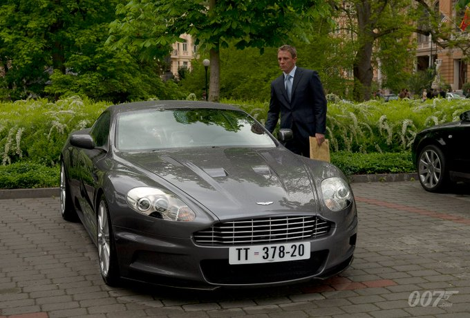 RT @007: Start your engines.…