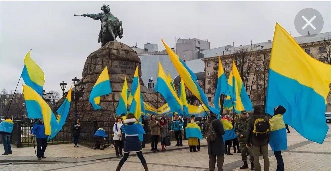 флаг украины жовто блакитный фото пусть твой