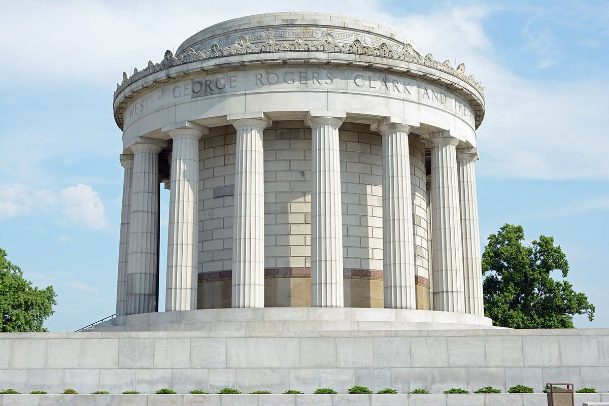 .#GreatLakes Photo of the Day! George Rogers Clark Memorial (Photo by Jud McCranie via https://t.co/NgA8Y0TYuX), located by the Wabash River at what is believed to be the site of Fort Sackville. If you've got a favorite photo, share it with #GreatLakes https://t.co/kAmeHZBzh4 https://t.co/bDvHcTFTNt