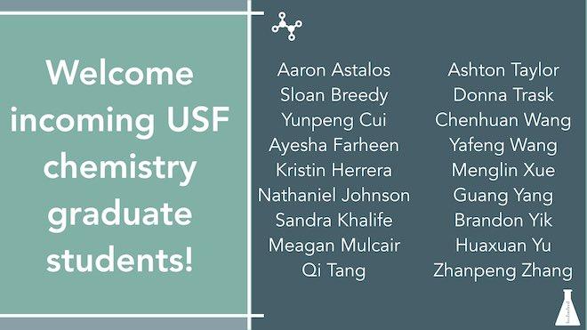 USF Chemistry (@usfchemistry)   Twitter