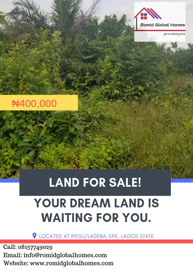 Become a land owner today with ₦400,000 only!Call: 08137749029Email: info@romidglobalhomes.comWebsite: http://www.romidglobalhomes.com #romidglobalhomes #landforsale #WednesdayMotivation #investment