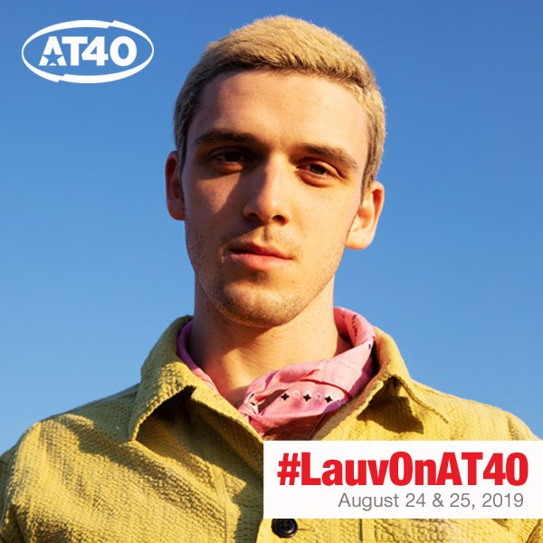 .@LauvSongs is running things for @RyanSeacrest on #AT40 this weekend and he's bringing his box of Blue Thoughts...So, get him your thoughts or fan questions now! #LauvOnAT40