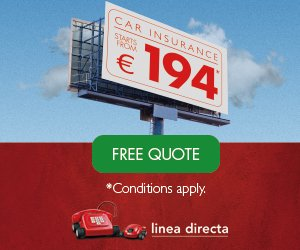 Fully Comprehensive Car Insurance from Línea Directa starts from JUST €194! Save money on your car insurance and call 902 123 983 today, that's 902 123 983.  Best Price.  Better Cover.  https:// coches.lineadirecta.com/car-insurance- spain-onff/?utm_source=bigfm&utm_medium=display&utm_term&utm_content=expatshogar&utm_campaign=dis_bigfm_post_hogaringles_septiembre18  … <br>http://pic.twitter.com/fMFM9Y9PSq