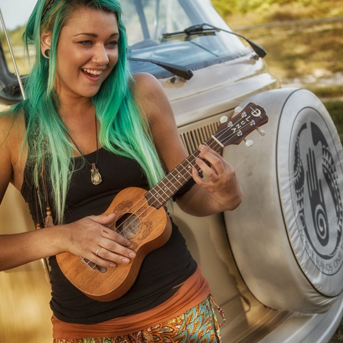 Luna Honu Turtle Soprano Uke - This design is based on a Hawaiian turtle (honu), a symbol of longevity and endurance rendered in a Polynesian tattoo style.   Explore:  https:// bit.ly/30wz2Uv    <br>http://pic.twitter.com/TQbkZFGgL4