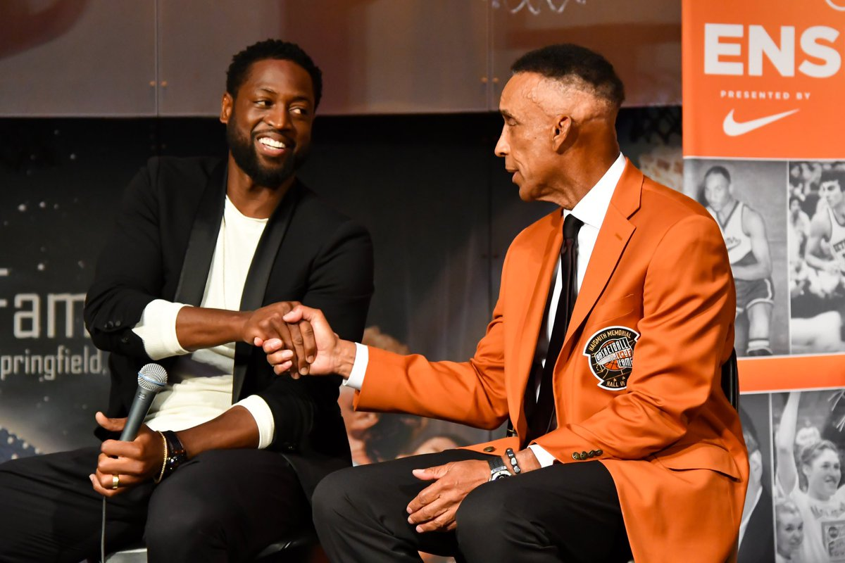 Basketball Hall of Fame Announces New Board Members. @DwyaneWade and @ScottRochelle_ Named to Board of Trustees.  📰: http://bit.ly/33Q0WNz