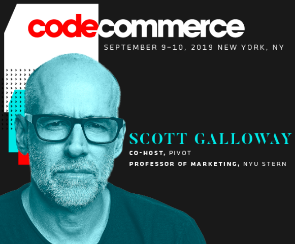 """Even though he recently called me """"Jason Del Whateverthefuckhisnameis"""" ...  happy to have @profgalloway join me & @karaswisher at Code Commerce on Sept. 10 to share new insights and predictions on commerce, advertising & more...  More speakers here:  https:// events.recode.net/events/code-co mmerce-2019/#speakers  …  <br>http://pic.twitter.com/u0mLlUqy4b"""