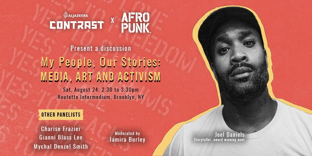 i always wanted to perform at @afropunk.   but my dreams have manifested in ways i never thought they would.  s/o to @jamiraburley for her support of my voice (because, Black women) and s/o to @ContrastVR + @RXahra for trusting my voice.  see ya'll in BK this saturday!