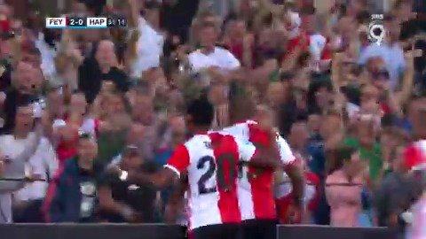 Feyenoord - Hapoel Beer Sheva 2-0 door Leroy Fer