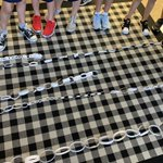 Image for the Tweet beginning: Paper Chain Challenge- which team