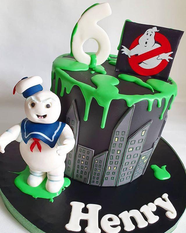 Amazing Ghostbusterscake Hashtag On Twitter Funny Birthday Cards Online Alyptdamsfinfo