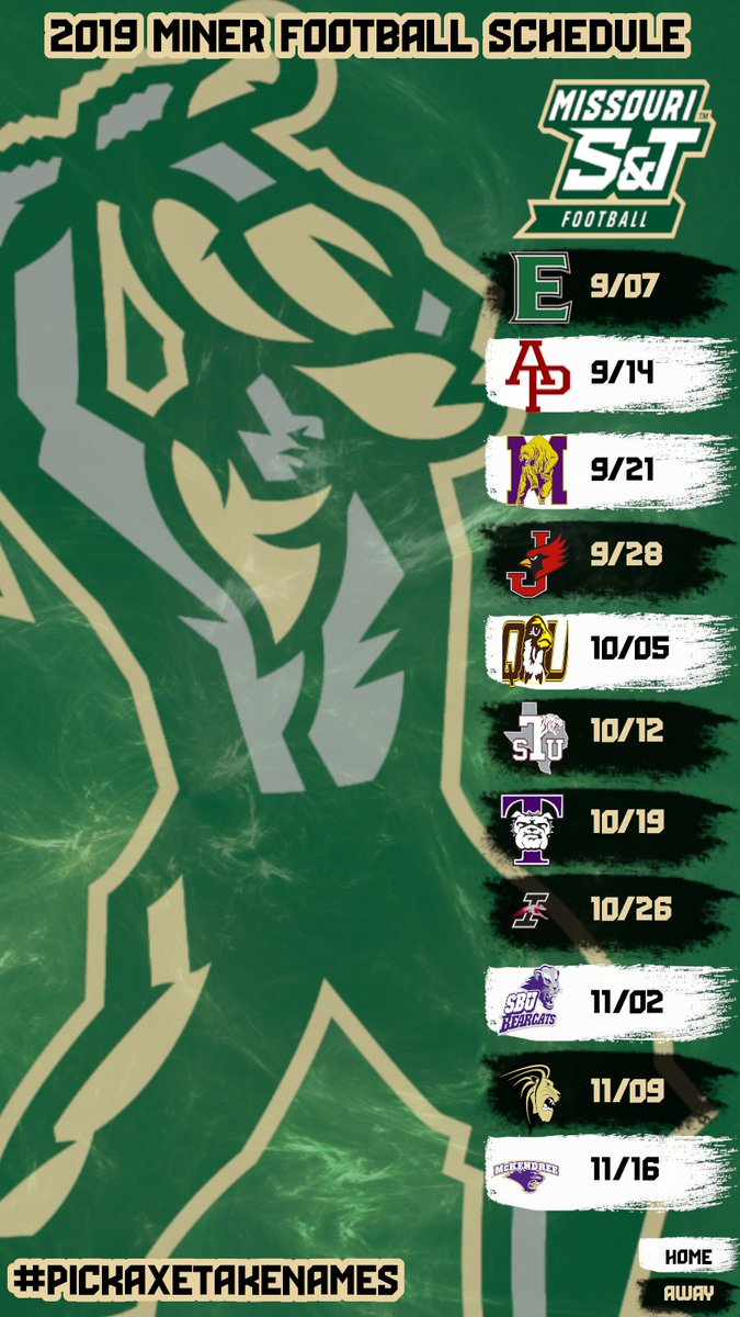 16 Days out. Catch us at Home or on the Road. #PickAxeTakeNames