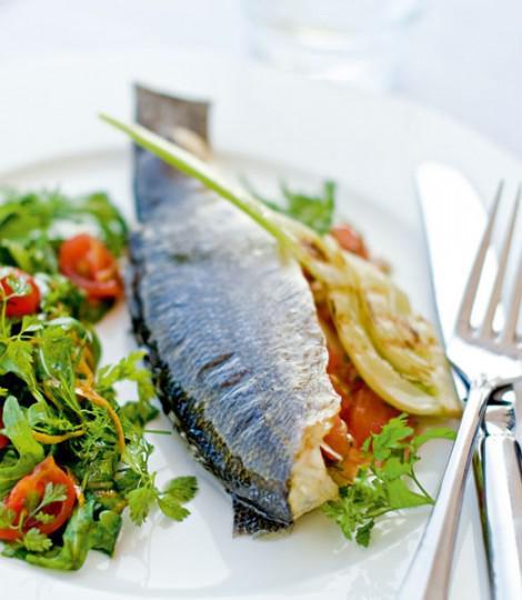 Sea bass with sauce vierge #seasonal #recipe  http:// bit.ly/2Oz4W1o    <br>http://pic.twitter.com/6qnVuDXbbg