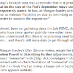 Image for the Tweet beginning: Powell will disappoint the market