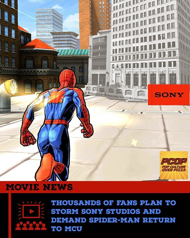 Thousands of Fans Plan to Storm Sony Studios to Demand The Return of Spider-Man to MCU  Similar to the Area 51 Naruto Ninja Run, three Spidey fans have created a Facebook event to organize simultaneous protests at both Sony Pictures in Culver City, Calif… https://t.co/kS8QbllKEB https://t.co/GvZB3o8TCx
