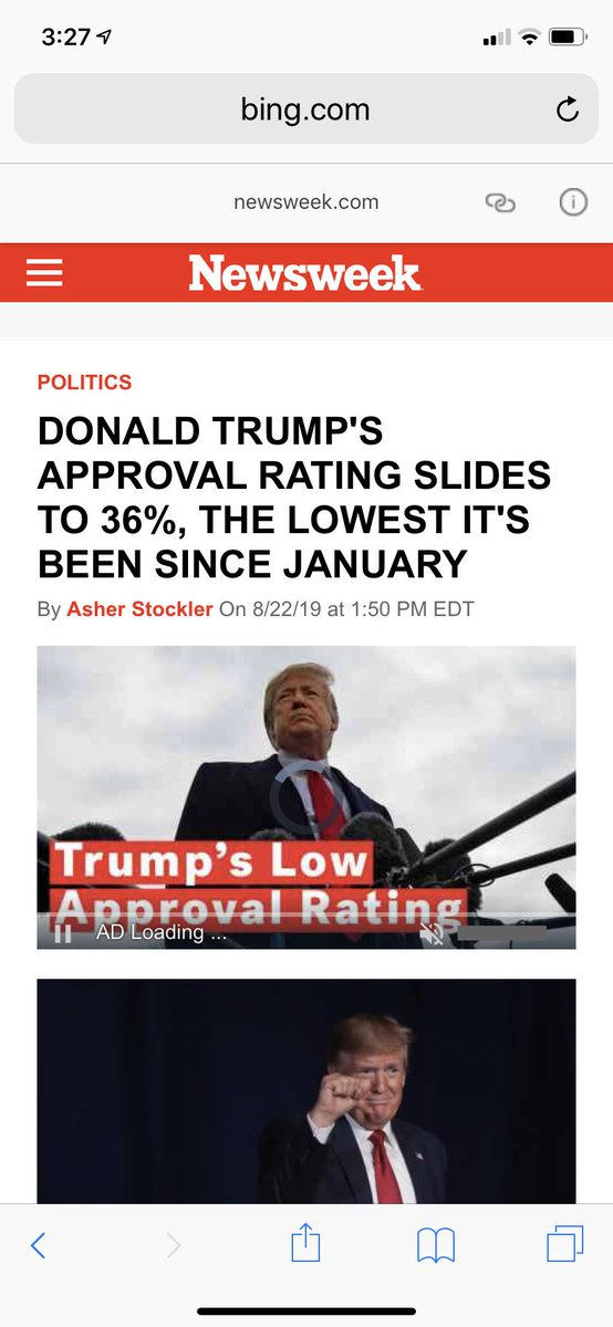 Still falling.  36% approval rating. Keep it up Republicans.  #Bluewave <br>http://pic.twitter.com/DrwM0uX9MH