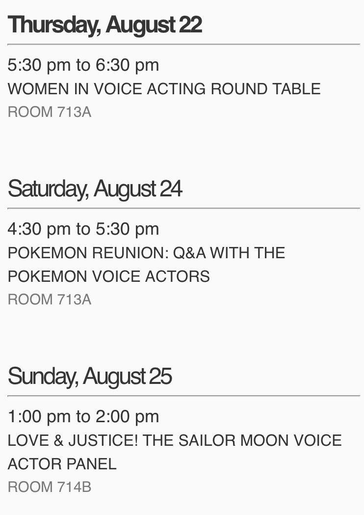 It has begun! @FANEXPOCANADA Here is my panel schedule! #fanexpocanada2019