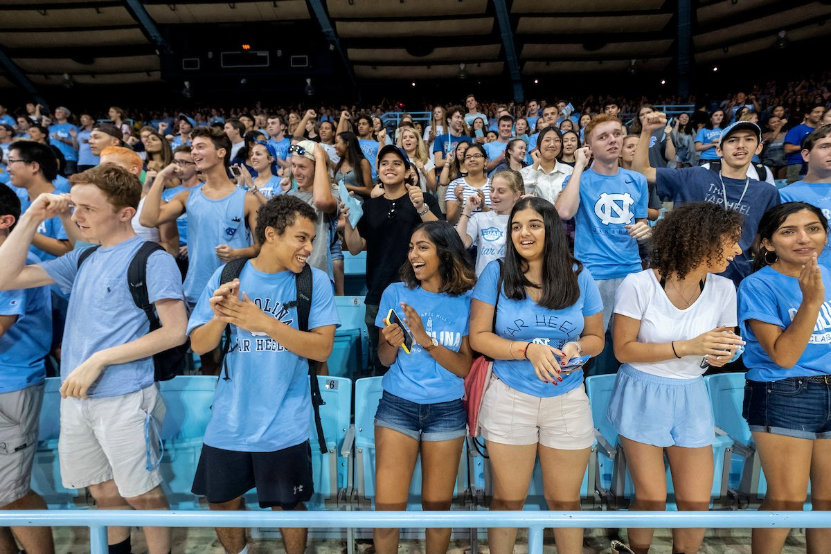 What's been your favorite Week of Welcome event so far? 🐏 New Student Convocation 🎉 FallFest 🎵 Sunset Serenade 🔔 Bell Tower Relighting ❓ Something else Let us know! 👇 #UNC | #UNCWOW2019 https://t.co/58lsvXTedO