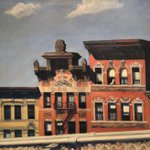 Image for the Tweet beginning: Edward Hopper, From the Williamsburg