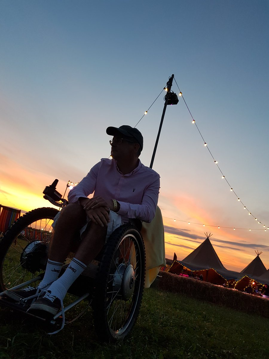 What have I done? 4 nights glamping at CarFest awaits. Life is good. Just different. #Carfest #wheelchairlife #MultipleSclerosis<br>http://pic.twitter.com/j8uSrtwDzb