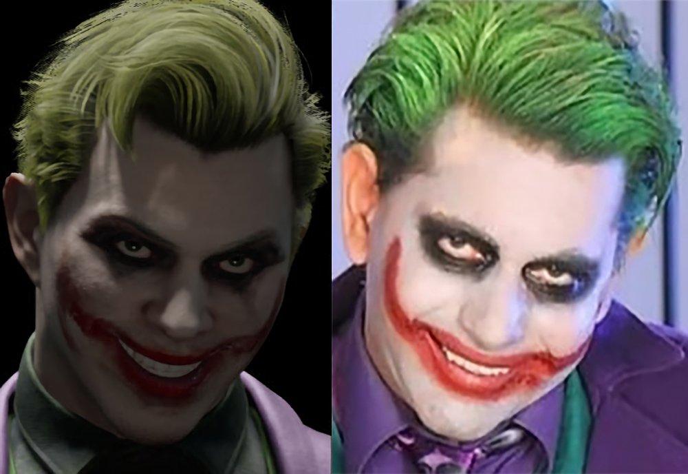 Mortal Kombat 11 Joker Uncomfortably Similar to Porn Parody Joker <br>http://pic.twitter.com/AfXVOjj1ev
