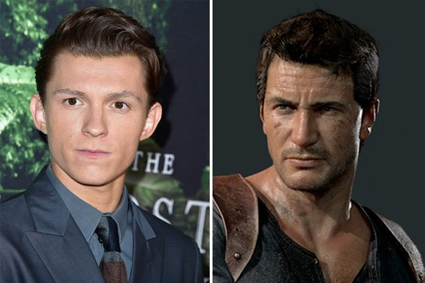 Image result for tom holland uncharted