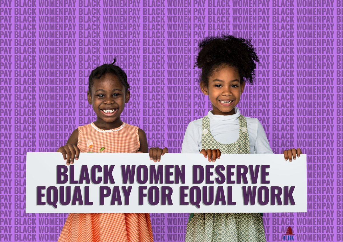 Telling Black women to get better jobs in order to secure #equalpay is ignoring the truth about pay disparities. Discriminatory attitudes in the workplace can lead to women being pushed out of fields with higher wages or lead to them being underpaid in both high & low-wage jobs.