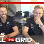 🔥 GRILL THE GRID 🔥  They're fiery on track but the @HaasF1Team duo are as competitive off it 🤣  Full episode >> https://t.co/Pt6SxFKUFa  #F1