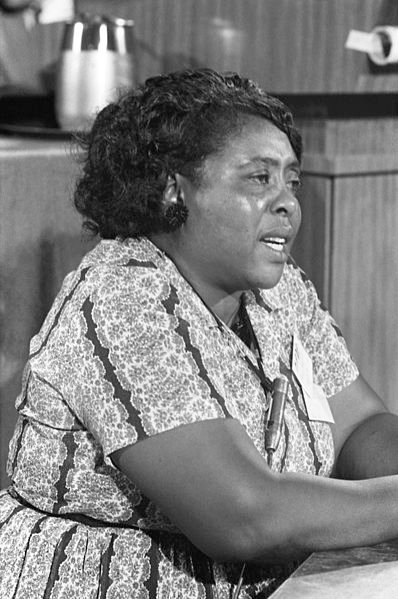 55 years ago, Fannie Lou Hamer did the unthinkable & challenged Mississippis all-white delegation for the Democratic National Convention. While she was unsuccessful, she drew national attention and four years later, became Mississippis first Black delegate since Reconstruction.