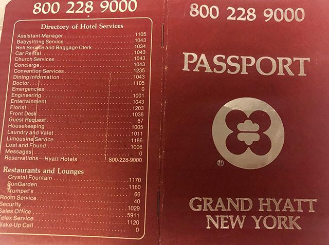 A passport to travel back in time. #TBT #LivingGrandNYC https://t.co/Iir6oG1wTU https://t.co/ERYkGLL0yy