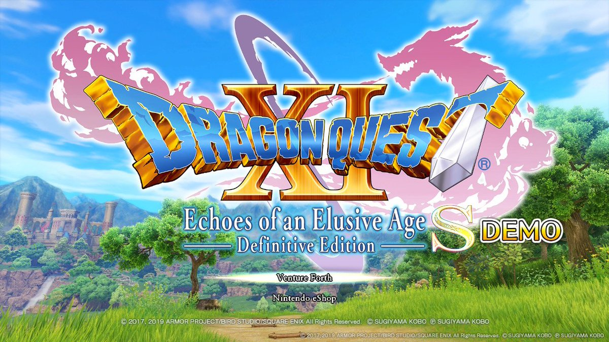 test Twitter Media - I've downloaded that Dragon Quest XI S demo, and it's both very shiny and aggressivelyto adorable :D #NintendoSwitch https://t.co/jbq9h6USHV
