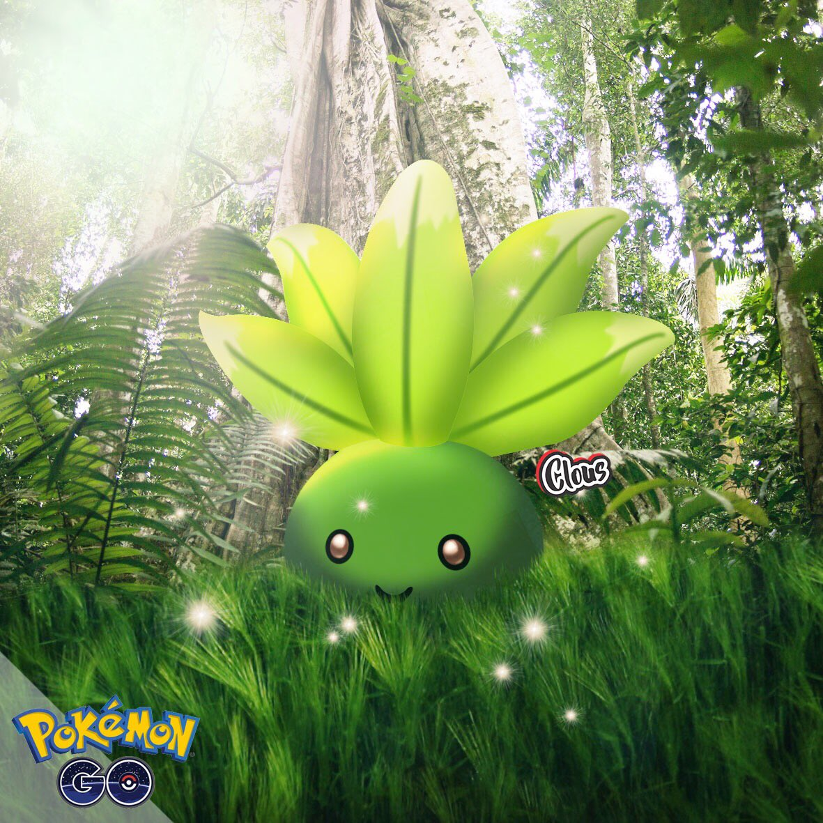 Ready to catch bugs!   Shiny Oddish?  #pokemongo #trainerclous<br>http://pic.twitter.com/xAQyyg5rw8